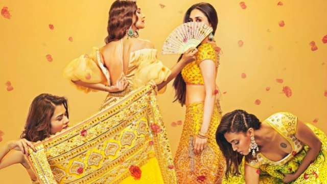 Veere Di Wedding teaser poster: Sonam Kapoor, Kareena Kapoor Khan and others make a vibrant statement