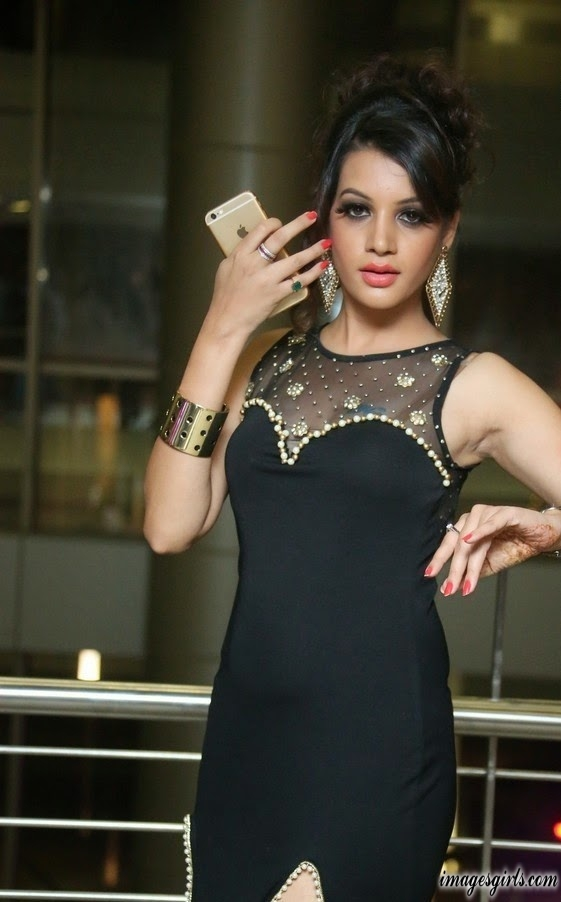 Deeksha Panth in Long Dress