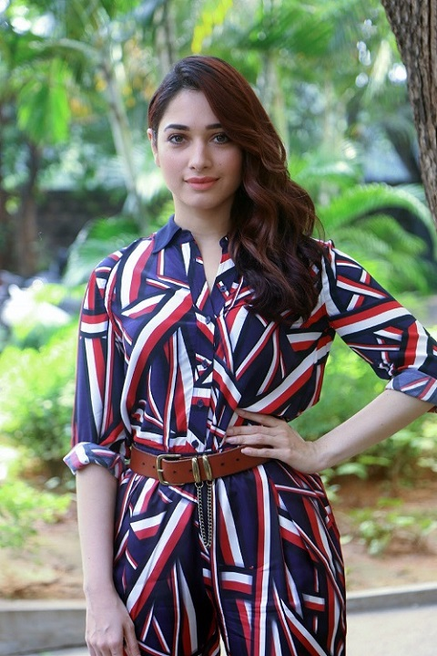 Tamannah Bhatia Photos in stylish dress