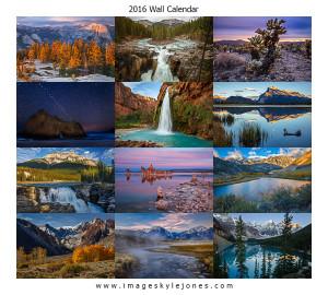 Images 2016 Landscape Wall Calendar