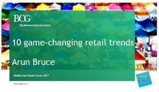 Arun Bruce, Boston Consulting Group