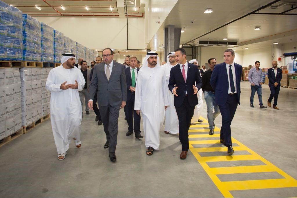 Majid Al Futtaim Unveils Carrefour S Regional Distribution Centre In
