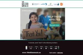 UAE launches '10 million meals' campaign