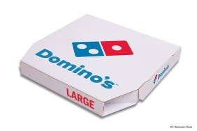 Domino's Pizza records sales growth