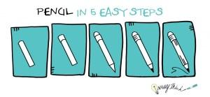 Pencil_5EasySteps