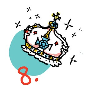 ImageThink's travel tip #8 shows a crown, which is what you should NOT be bringing with you when you travel, or bring any valuables you would not be willing to part with.