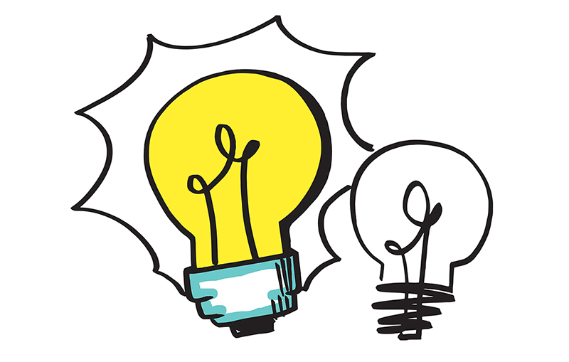 Develop new ideas through visual thinking with ImageThink graphic recording