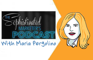 sophisticated marketer's podcast, imagethink, graphic recording, sketchnotes, maria pergolino