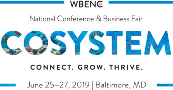 logo, wbenc conference
