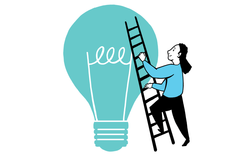 Creative thinking workshops helps developing new visual thinking skills and perspective