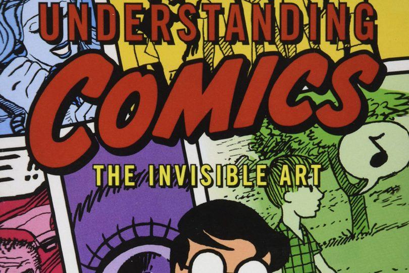 Understanding Comics by Scott McCloud book cover crop
