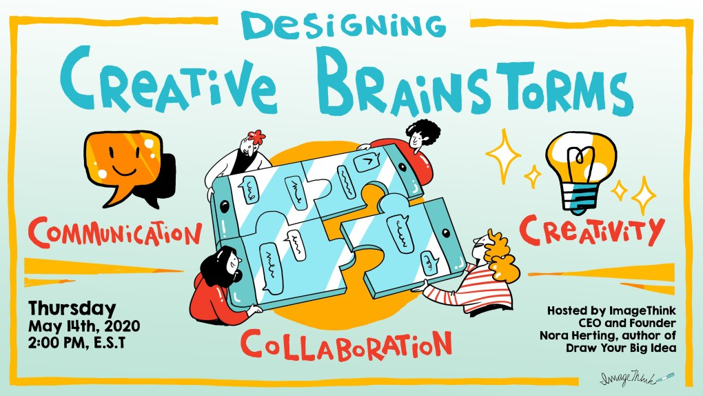 ImageThink Creative Brainstorming Webinar for Virtual Brainstorm and Collaboration Learning