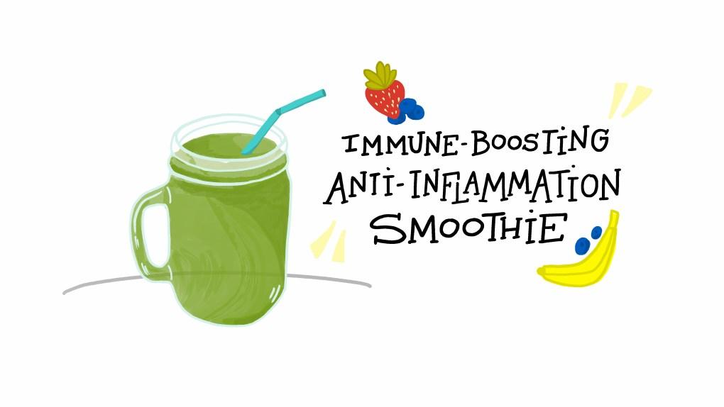 ImageThink's Immune Boosting Anti-Inflammatory Smoothie recipe from Quarantine