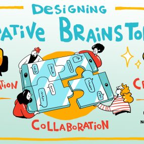 Driving communication, collaboration, and creativity in virtual brainstorms