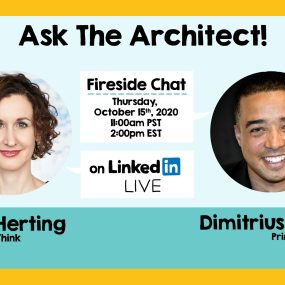 Ask the Architect with Dimitrius Lynch of LYNES, a fireside chat on LinkedIn Live
