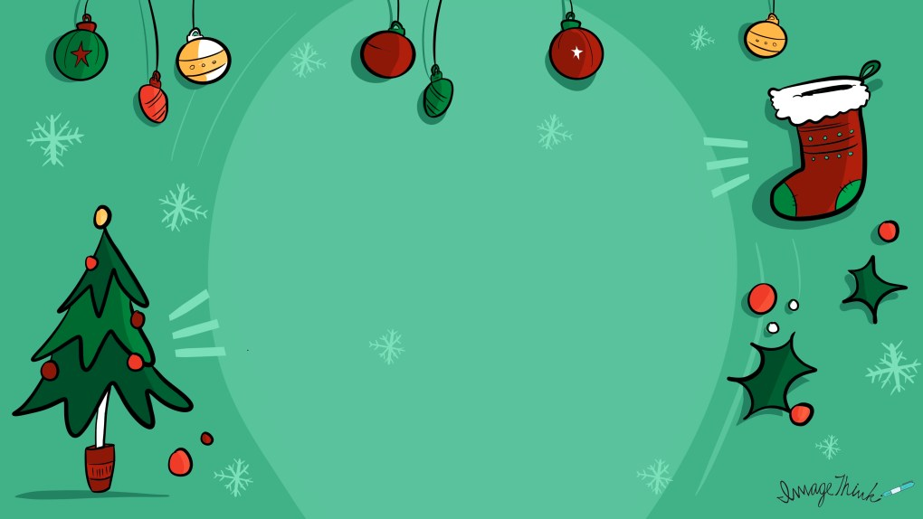 Virtual background for ImageThink holidraws make perfect holiday party ideas