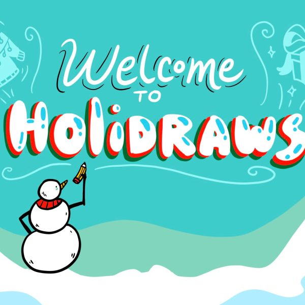 holidraws virtual office holiday party introduction hero image