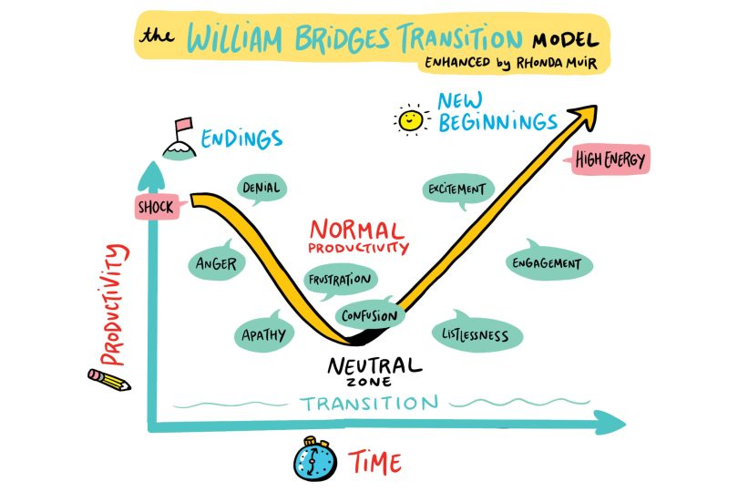 Behavioral psycology models like the William Bridgers Transition model influenced the creation of The ImageThink Method™