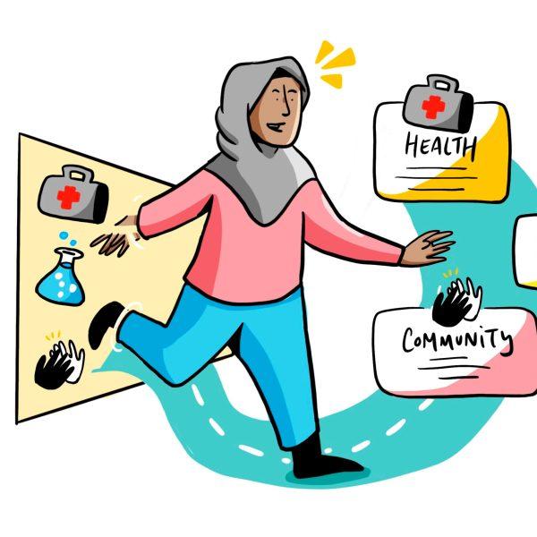 ImageThink facilitation creates a visual gateway to new paths forward