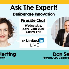 ImageThink founder Nora Herting and Dan Seewald, of Deliberate Innovation, on ASK THE EXPERT!