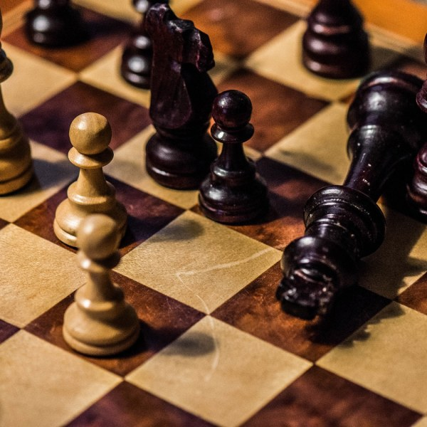 Chess Set closeup