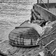 A deserted boat