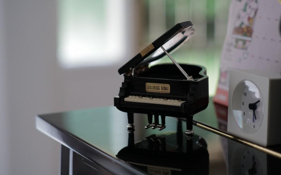 The piano miniature