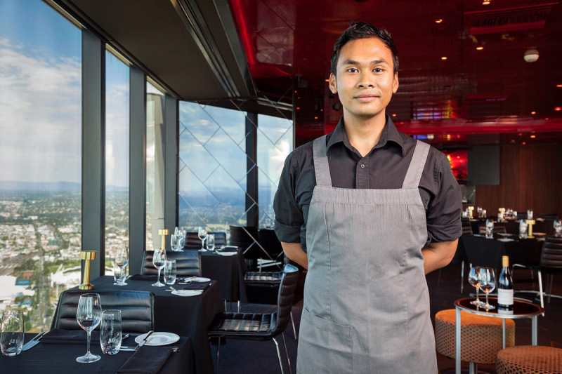Harriyadi - William Angliss Institute - Image Workshop photography Melbourne. Hospitality Portrait by Brence Coghill