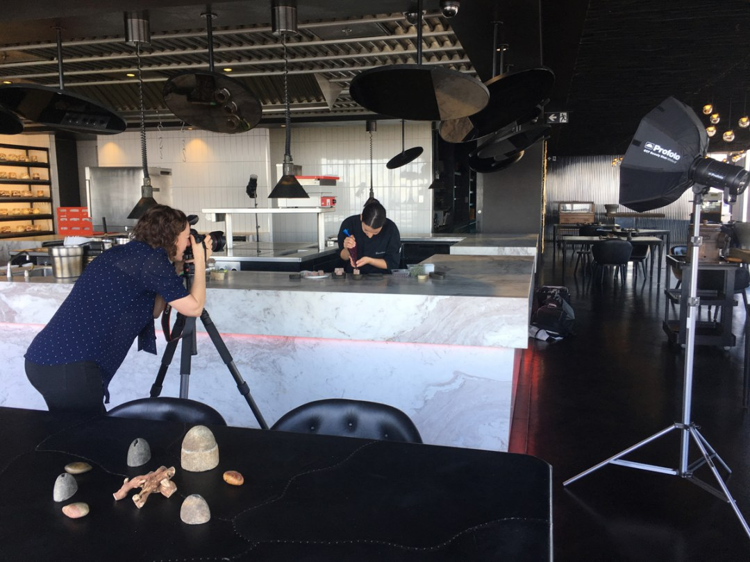 Commercial portrait photography on location at Melbourne restaurant Vue de Monde