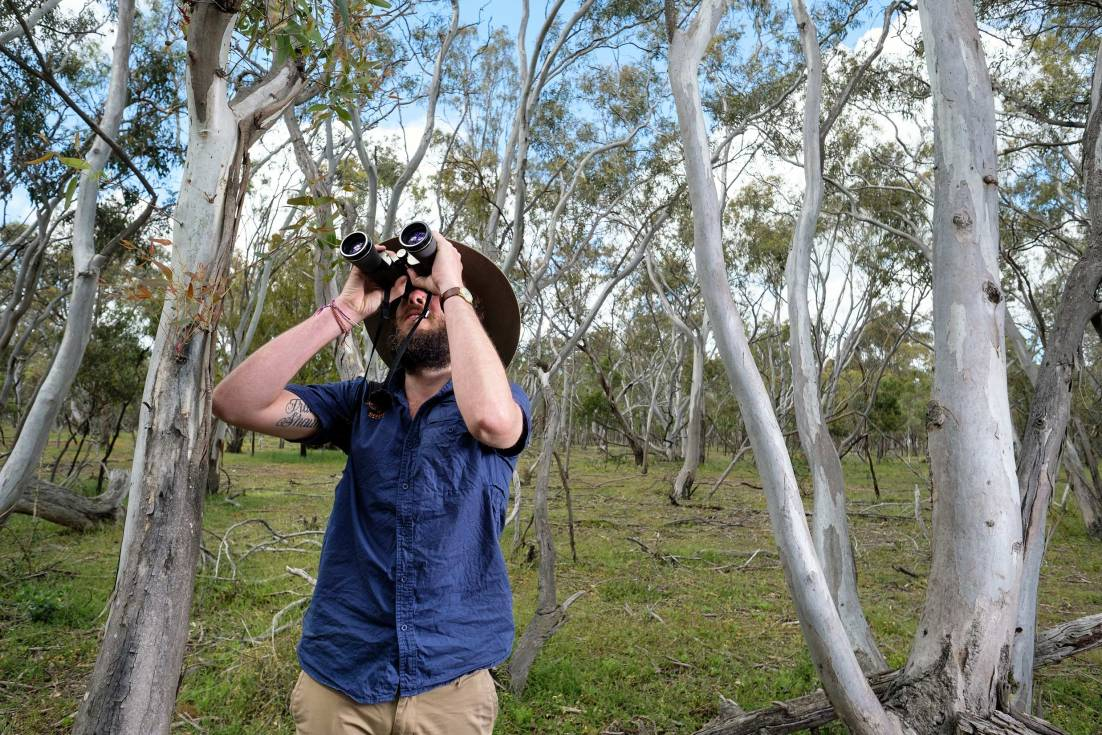 Environmental portrait of a wildlife tour operator in Melbourne