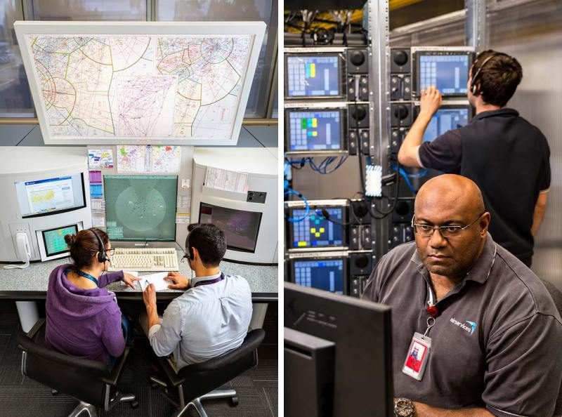 Air traffic navigation operations and tech support, photo by Sharon Blance of Image Workshop photography Melbourne