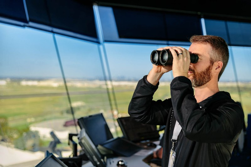 Operations at Melbourne Air Traffic Control Tower, photo by Sharon Blance of Image Workshop Melbounre