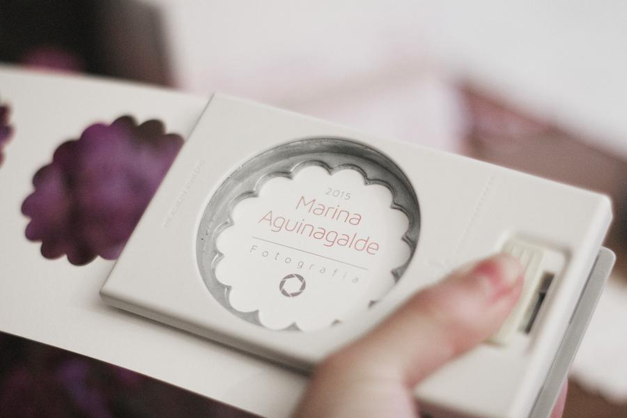 diseño caja cd logotipo vintage romántico donostia gipuzkoa