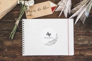 Libros de firmas para Bodas personalizados y elegantes   by Imaginaran