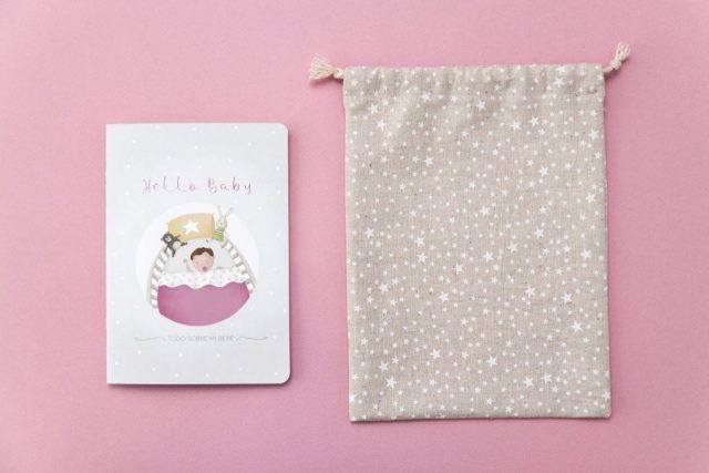 Libro de recién nacido bebé niña