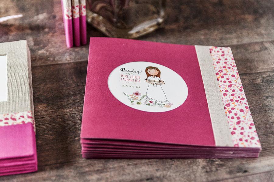 Recordatorios y tarjetas de comunión