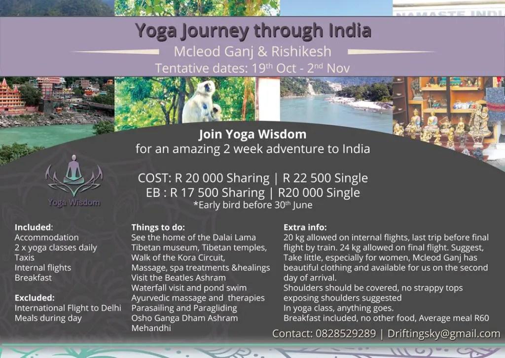 Yoga Retreat Flyer