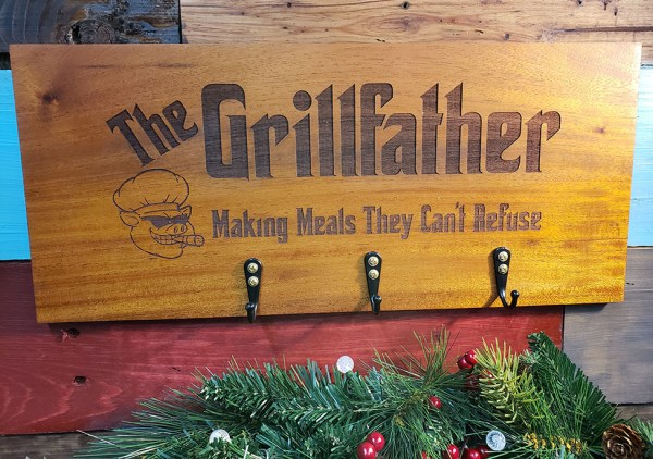 Grillfather BBQ Accessory Sign