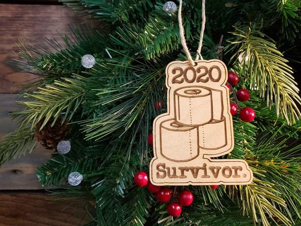 2020 Survivor Christmas Ornament