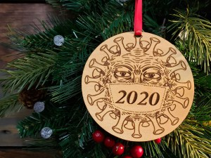 COVID 2020 Christmas Ornament