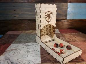 Dragon Dice Tower for RPG Games