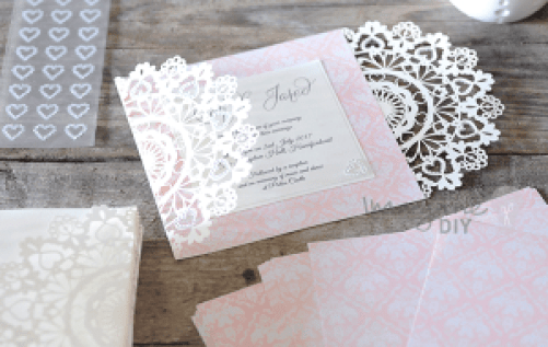 Buy Wedding Invitations Online Uk: How To Make- Arabesque Laser Cut Invitation