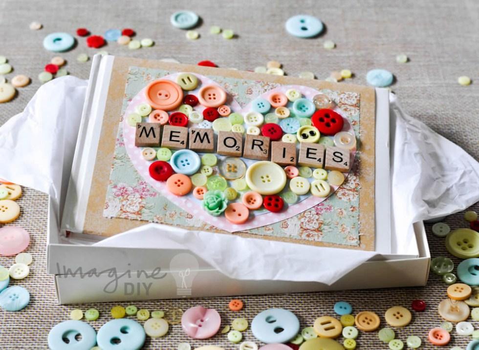 wedding memories guest book design