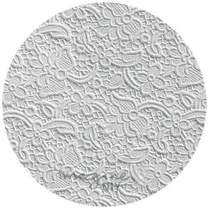 Luxury Lace Embossed Paper Snow White, Vintage lace effect paper, Textured lace patterned paper. Embossed white paper for vintage wedding stationery. DIY wedding supplies
