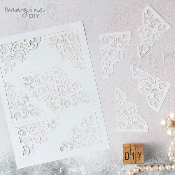 How to make sparkling laser cut wedding stationery diy wedding invitation and stationery supplies make your own wedding stopboris Images