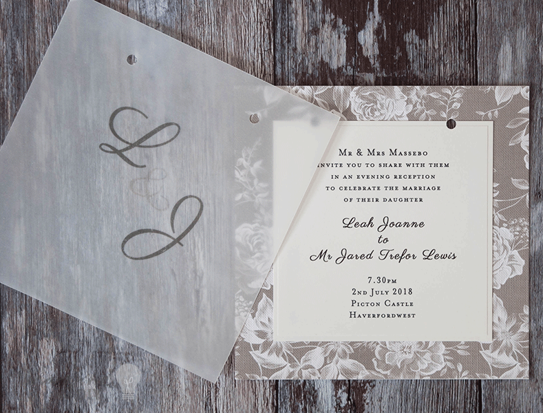how to make gorgeous vellum wedding stationery