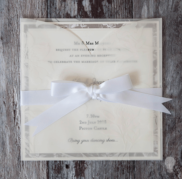 How To Make... Gorgeous Vellum Wedding Stationery