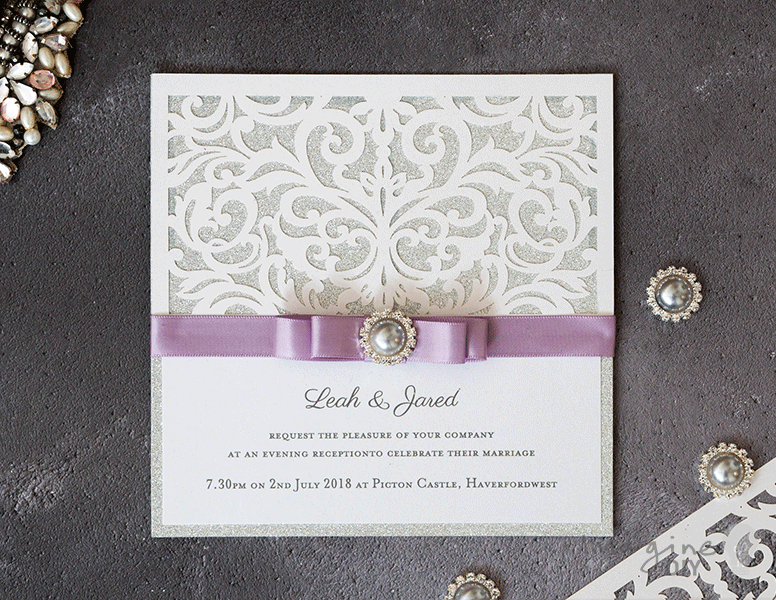 How To Make Sparkling Laser Cut Wedding Stationery