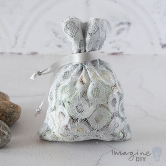Grey Lida Favour Bag