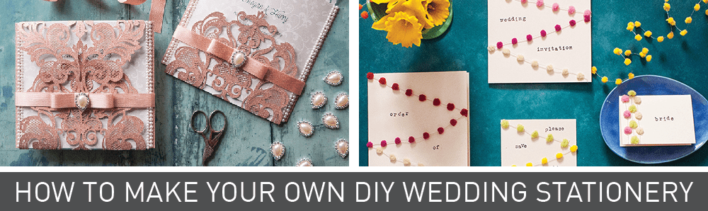 how to make your own wedding stationery. DIY wedding stationery design guides, products and instructions. Inspiration for your wedding. DIY wedding
